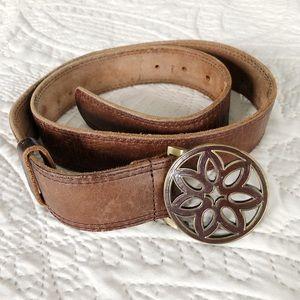 American Eagle Brown Leather Belt - size Medium